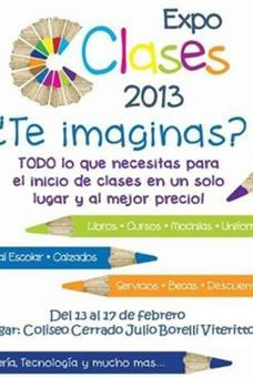 Logo expoclases 2013