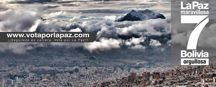 la paz ciudad maravillosa bolivia orgullosa 2014