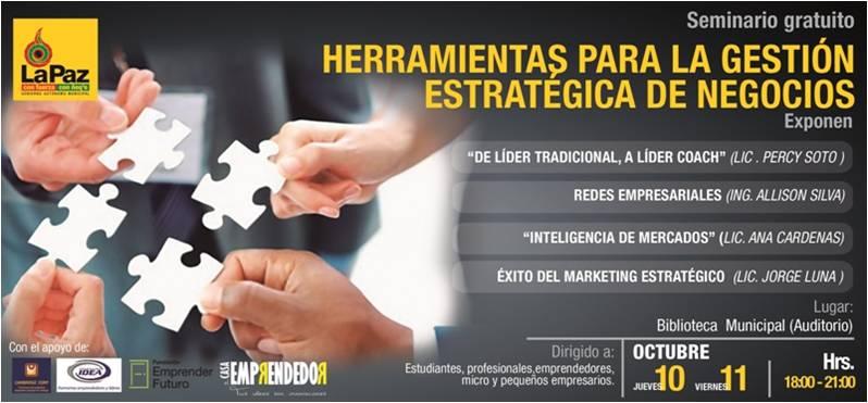 seminario de emprendimiento_la Paz