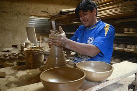 producción con manos bolivianas fexpomype