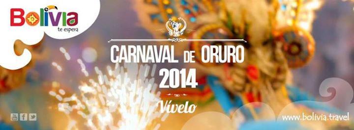 bolivia te espera carnaval 2014