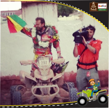 Wálter Nosiglia (Fuente: Dakar Bolivia te espera)