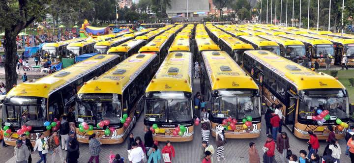 buses pumakatari