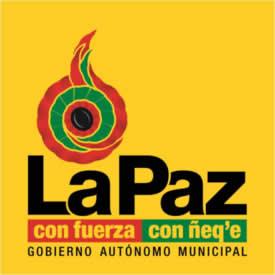 logo gobierno municipal de la paz