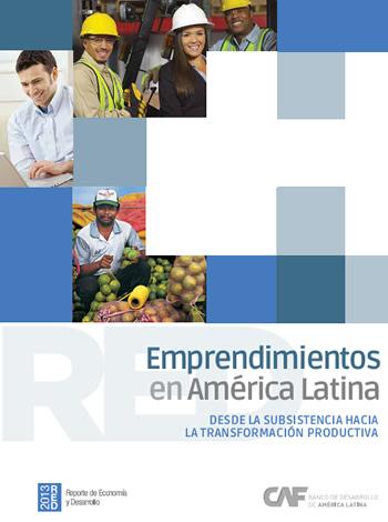 portada publicación CAF emprendimientos