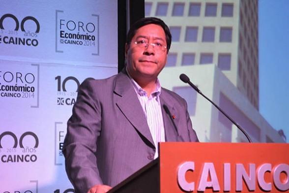 Luis Arce CAINCO