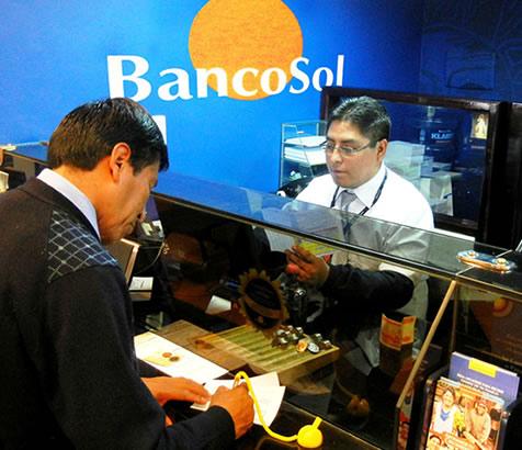 banco sol servicio