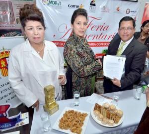 La ciudad de La Paz mejora el clima de negocios para generar empleo y producción. Iván Rosales Chalar gerente de la feria./ El Diario