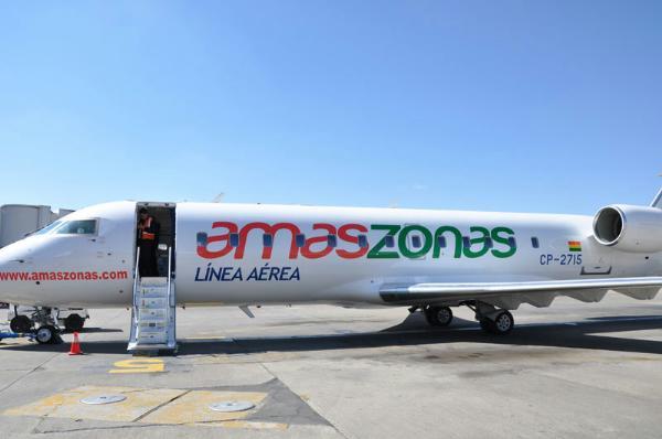 Avión de Amaszonas./ Fuente Hoybolivia.com