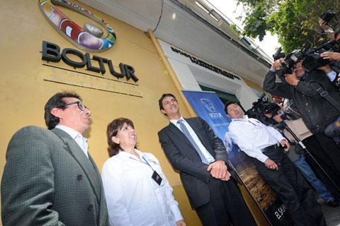 Autoridades inauguraron oficinas de la Empresa Estatal Boliviana de Turismo (Boltur) Fuente: Jornadanet.com