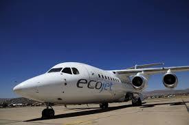 Avión de Eco Jet/ Fuente Hoybolivia.com