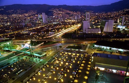 """Medellín, la coudad """"más innovadora del mundo""""/ Fuente revistatravesias.com"""