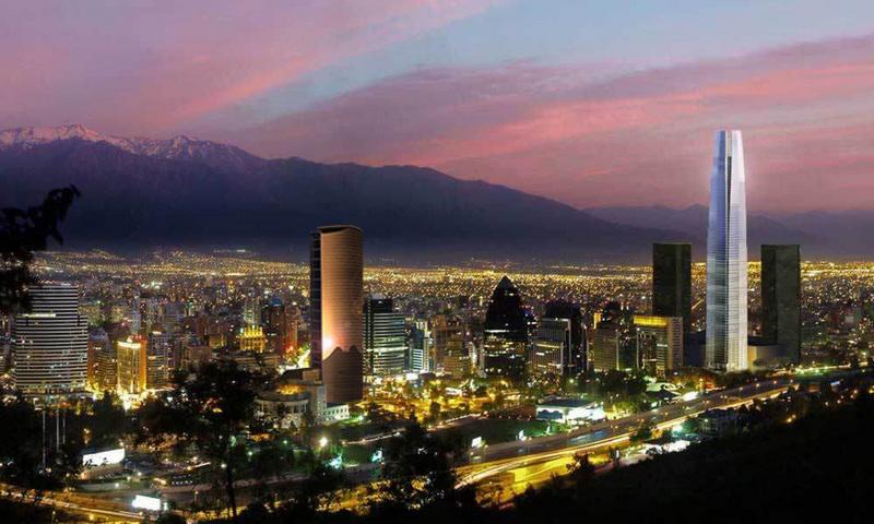 Ciudad de Santiago de Chile./ Fuente turismodigital.com