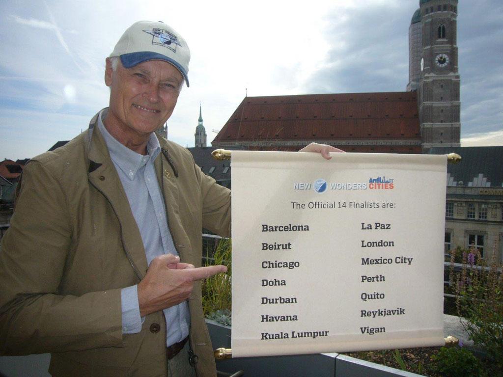 la paz finalista entre las 14 ciudades maravilla