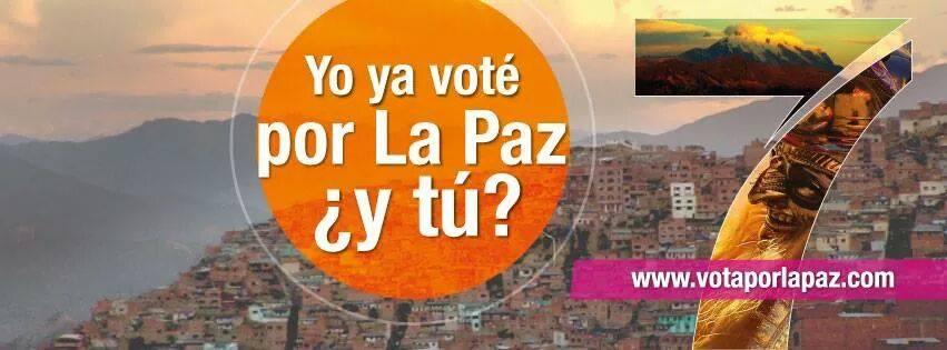 vota por la paz
