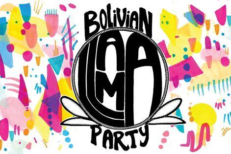 Bolivian Llama Party fuente: Facebook de Bolivian Llama Party