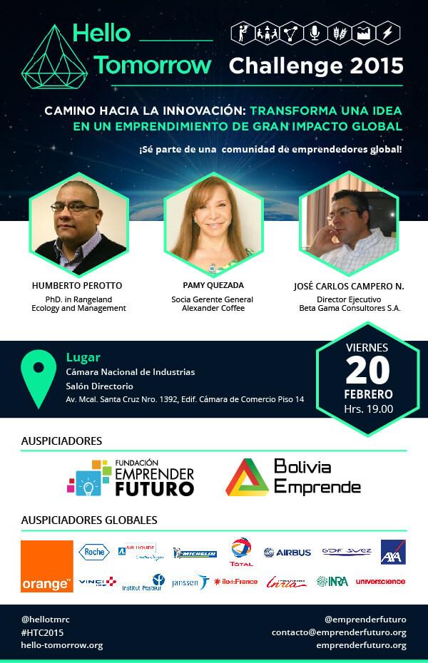 hello tomorrow 2015 bolivia emprende