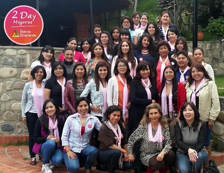 2 day mujeres bolivia emprende emprendimiento 2015