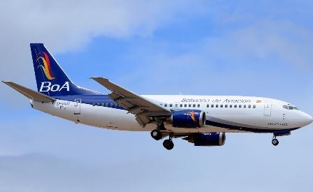 Imagen BOA avion