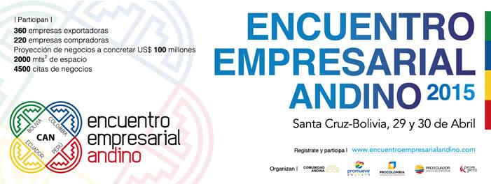 4to encuentro empresarial andino 2015