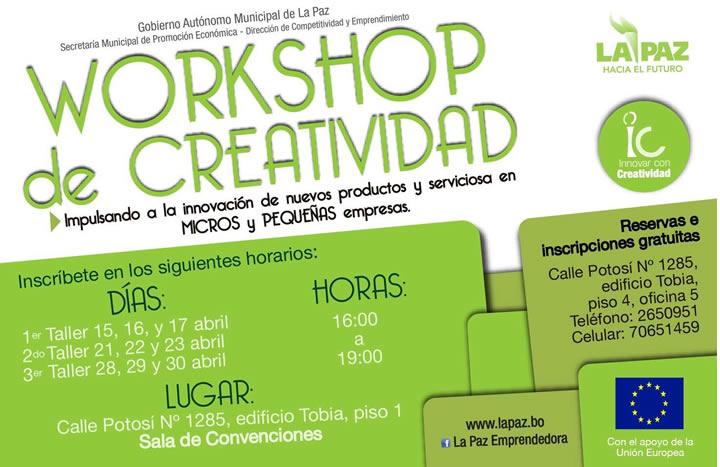 creatividad workshop