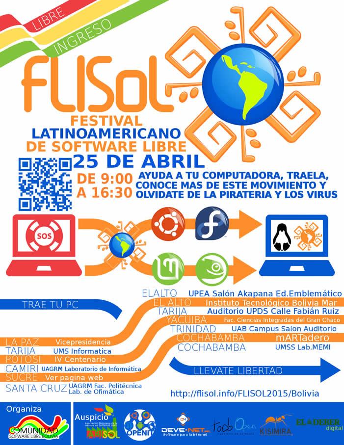 flisol bolivia 2015