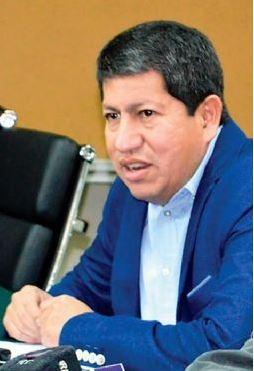 El ministro Luis Alberto Sánchez Fuente: Página Siete