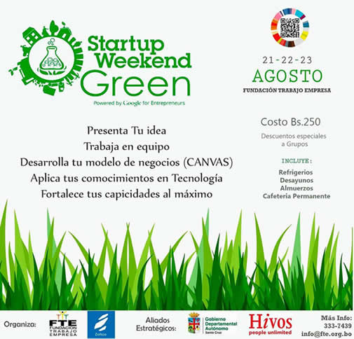 startup weekend green 2015 bolivia