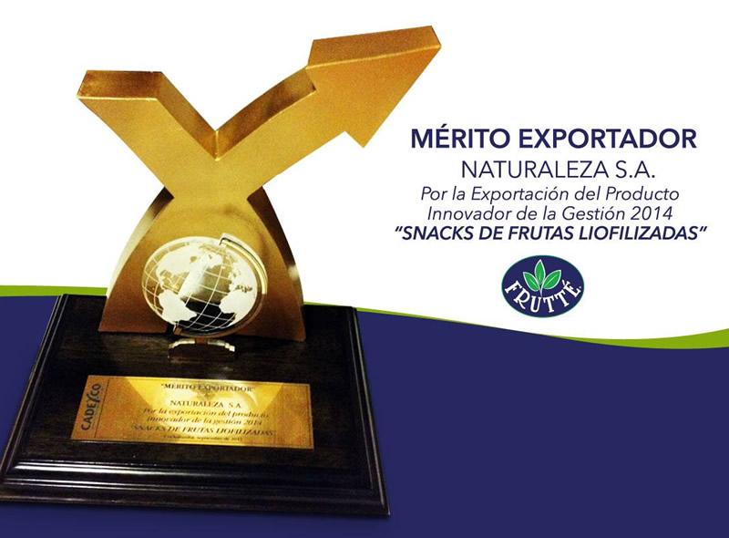 frutte bolivia merito exportador