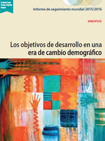 poRtada informe BM objetivos de desarrollo