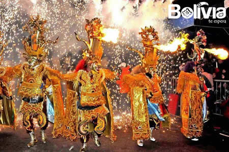 carnaval oruro danzantes