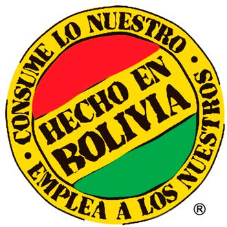 hecho en bolivia sello