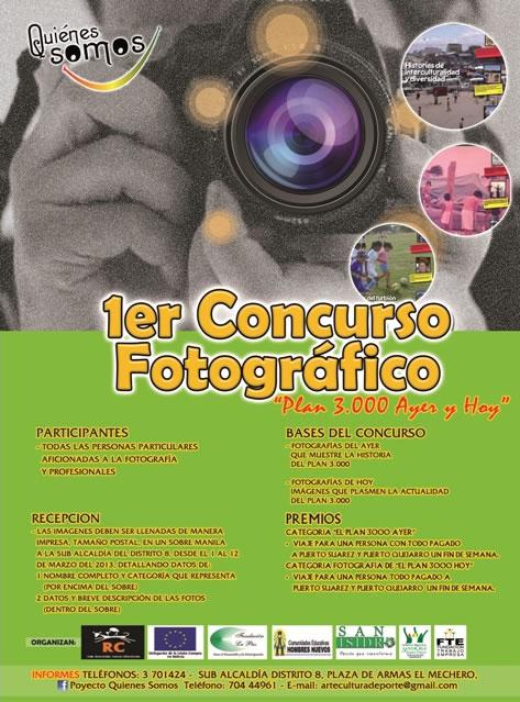 Afiche 1er. Concurso Fotográfico