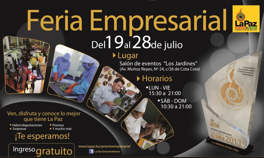 Invitación Feria Empresarial