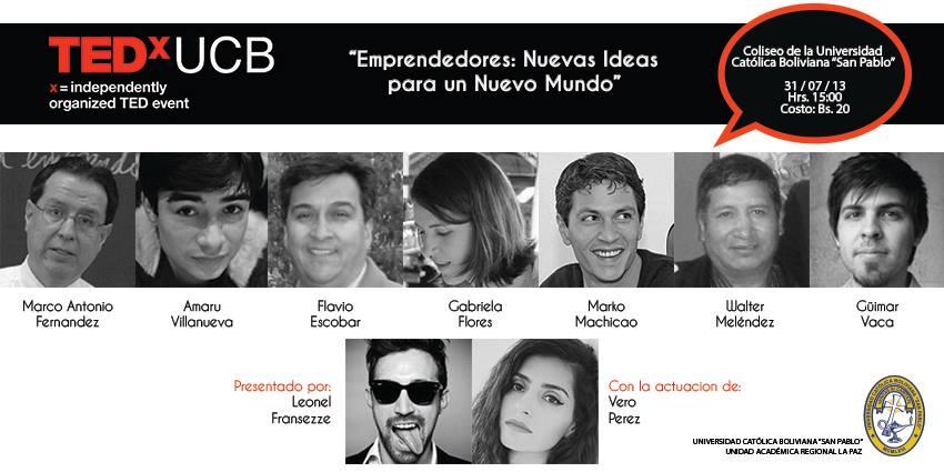 """Emprendedores: """"Nuevas Ideas para un nuevo Mundo"""""""