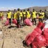 Campaña de limpieza en Oruro