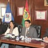 Personeros de cainco y la cámara nacional de industrias brindaron ayer una conferencia de prensa sobre el importante evento. Fuente: El Diario