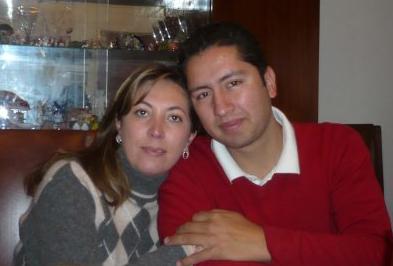 Daniela Cano y Mauricio Gallardo