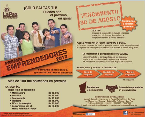 Premio Emprendedores 2013