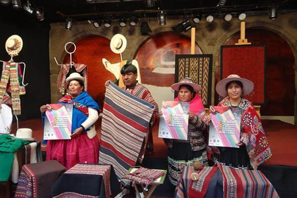 Feria arte textil
