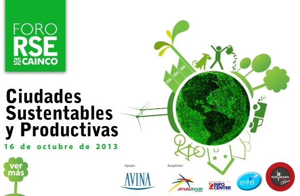 Foro CAINCO Ciudades sustentables1