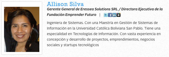 Allison Silva startup weekend 2013