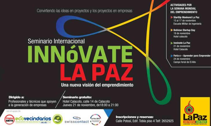 innovate la paz 2013