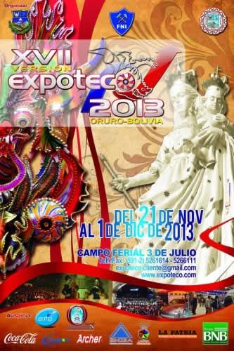 expoteco oruro bolivia 2013