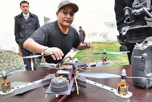 ALTEÑO y el drone
