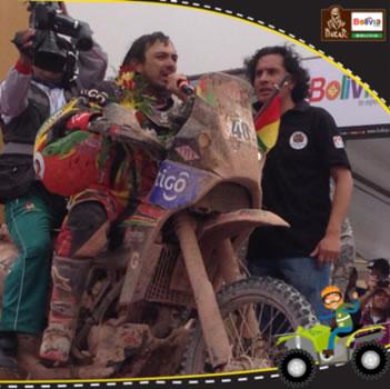 Chavo Salvatierra (Fuente: Dakar Bolivia te espera)