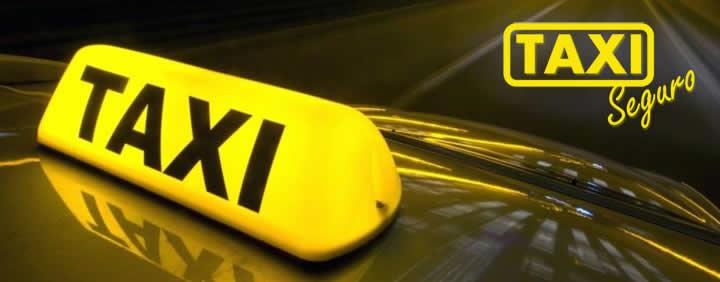 logo taxi seguro