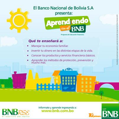 aprendiendo con el BNB nuevo