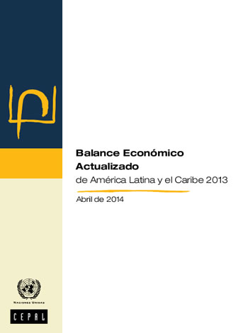 portada balance económico CEPAL