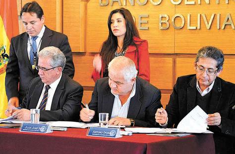 Recursos-Autoridades-gobierno-BCB-concesionENDE